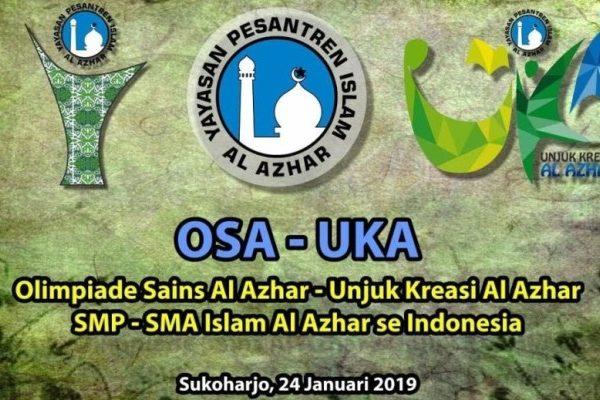 Rekapitulasi Hasil Final OSA 2019 SMP dan SMA Islam Al Azhar