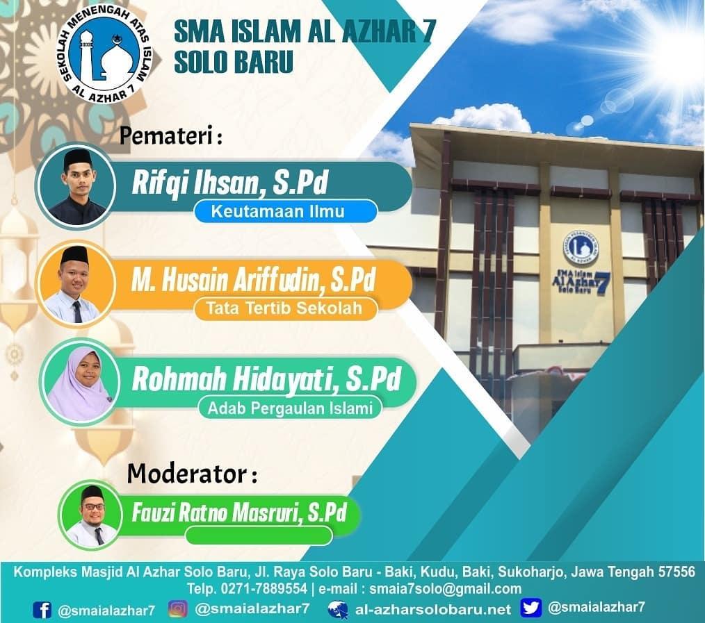 Photo of Matrikulasi Budaya Sekolah (MBS) SMA Islam Al Azhar 7 Tahun Pelajaran 2020/2021