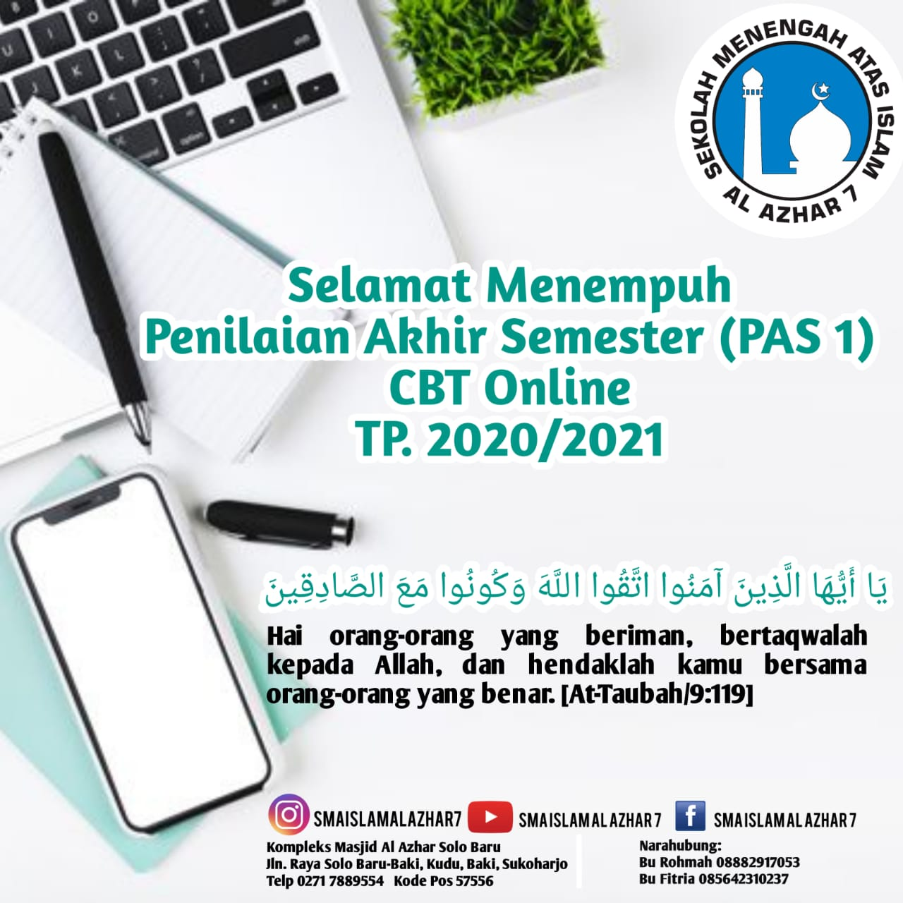 PAS AL AZHAR 2020