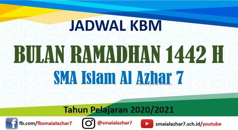 jadwal kbm ramadhan 2021
